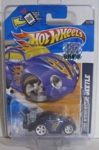 Hot Wheels Treasure Hunt Volkswagen Beetle Factory Master Set Super