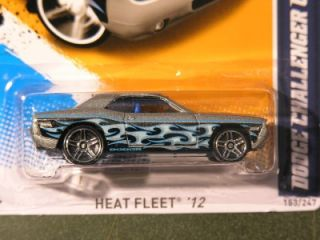 Hot Wheels 09 2012 Kmart Exclusive 153 Dodge Challenger Concept Silver