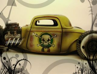 32 34 Ford Weathered Hot Rat Rod Project Car 1 18 Ertl GMP Maisto
