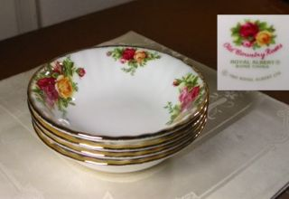 Royal Albert Old Country Roses Fruit Bowls s New