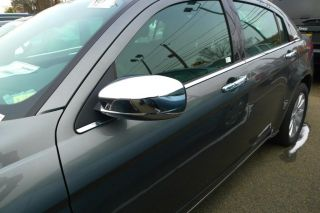 2011 2012 Chrysler 200 Chrome Mirror Door Handle Cover Package Trim