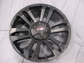 20x9 6x139 7 6 139 7 MB Motoring TKO Matte Black Wheels Rims