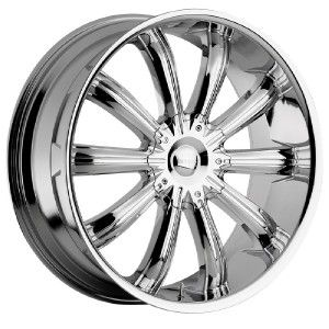 24 inch Incubus Awakening Chrome Wheels Rims 6x135 Ford