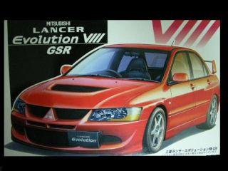 24 Fujimi Mitsubishi Lancer Evolution VIII GSR