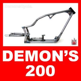 ProStreet Custom Motorcycle 200 LSD Frame Drop Seat for Harley Softail