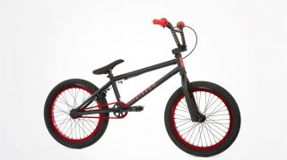 Fit 2013 PK 18 inch Complete Bike Black Red BMX 18 Small s M Haro