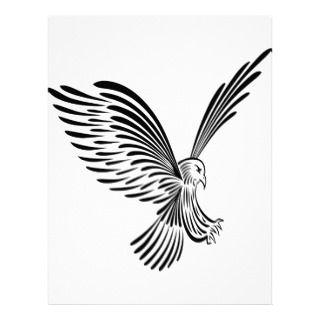 Tribal Eagle Art #030 Letterhead
