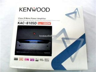 Kenwood KAC 8105D Class D Mono Power Amplifier 1000W