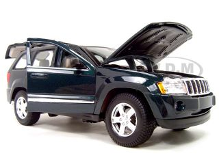 2005 Jeep Grand Cherokee Green 1 18 Scale Diecast Model