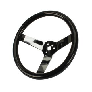 New Speedway 12 Classic Solid 3 Bolt Steering Wheel, No Holes, 3.5