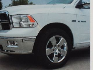 NEW SET OF CHROME SKINS FOR 09 10 DODGE RAM 1500 WITH 20 ALLOY WHEELS