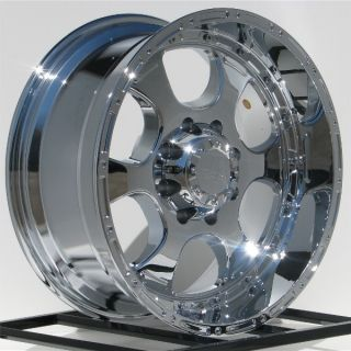 20 inch Chrome Wheels Rims Ford F250 F350 Truck Super Duty Excursion 8