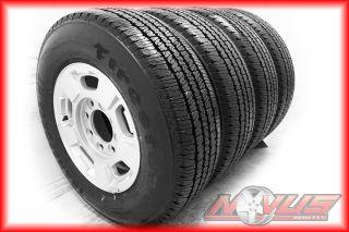 17 GMC Sierra Chevy Silverado 2500 Wheels Firestone Tires 8 Lug 2011
