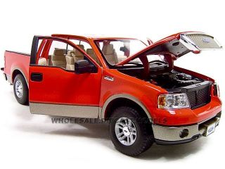 2006 Ford F 150 Lariat Red 1 18 Diecast Model