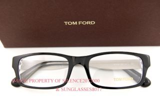 New Tom Ford Eyeglasses Frames 5164 003 Black for Men