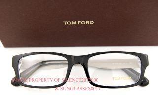 New Tom Ford Eyeglasses Frames 5164 003 Black for Men
