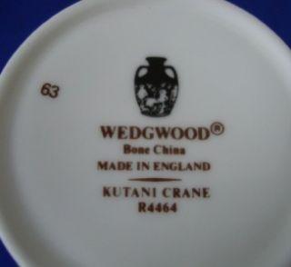 Wedgwood Kutani Crane Coffee Cups s Saucer s Mint
