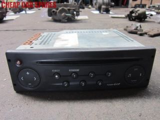 Renault Laguna MK2 00 05 1 8 Stereo Radio CD Player Head Unit No Code