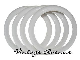 Vintage Collector Car Automobile White Wall Tires 14