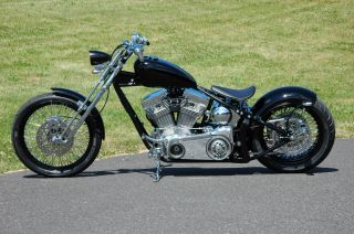 200 Tire Softail Rolling Chassis Harley Bobber Chopper