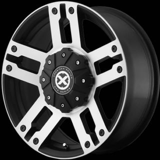 18x8 5 Black Wheel American Racing ATX AX190 5x150
