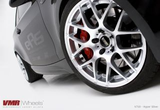 18x8 5 9 5 VMR 710 Staggered Hyper Silver Wheel 5x120 Fit BMW 1 Series
