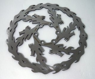Dirty Dog Dragon Disc Brake Rotor Full CNC 1pcs 160mm
