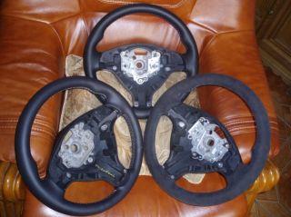 BMW E34 E36 M3 Z3 E39 New Leather M Stich Sport Steering Wheel