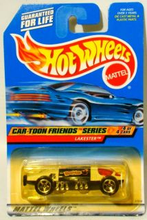 HOT WHEELS Lot of 5 MOC cars Hot Rod – Car Toon – Snack Time