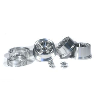RC4WD Billet Beadlock Wheels for The HPI Baja 5B