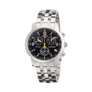 Tissot PRC 200 Mens Stainless Steel Case Chronograph Date Watch T17 1