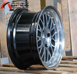 16x8 Varrstoen V4 4x100 25 Silver Wheel Fit Honda Civic SI EG6 EK9 Fit