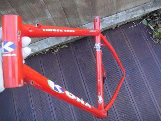 1992 Kona Cinder Cone Cindercone 19 Retro Mountain Bike Frame Steel