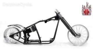 200 Wide Rolling Chassis Springer Bobber Frame Fit Harley Softail EVO