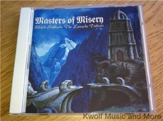 Masters of Misery Black Sabbath The Earache Tribute CD 1997 Earache