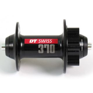 DT Swiss 370 Front 6 Bolt Disc Brake Mountain MTB Hub 32h Black QR