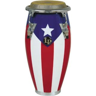 Latin Percussion Music Collection Mini Tunable Conga Puerto Rican Flag