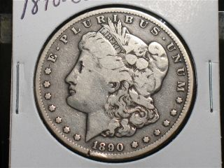 1890 CC Morgan Silver Dollar Carson City Me