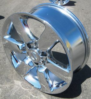 20 FACTORY NISSAN TITAN ARMADA OEM CHROME WHEELS RIMS QX56 PATHFINDER