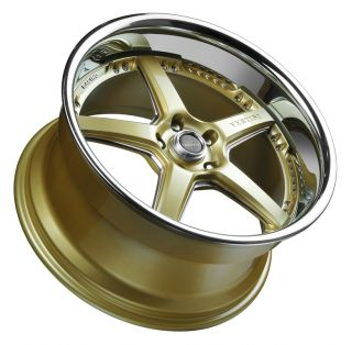 Vertini Drift 19x9 0 Wheels 5x114 3 Rims Et 20mm Gold