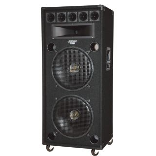 Pyle PADH182 New 18 DJ Dual 8 Way Stage Speaker Cabinet 1400 Watt w