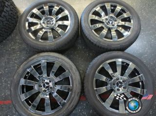 Mercedes GLK Factory 19 Wheels Tires OEM Rims Black PVD 85095 Outright