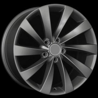 Turbine Style MATTE GUNMETAL Wheels Rims Fit AUDI A3 A6 (C6) TT (MKII