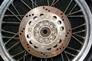 DR650 Dr 650 Rear Wheel Rim Hub Spokes Tire