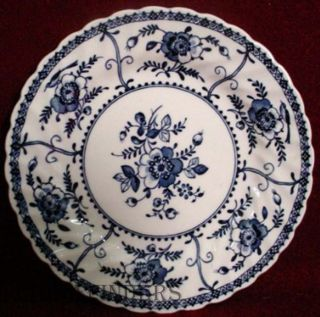 Johnson Brothers China Indies Blue Pattern Bread Butter Plate