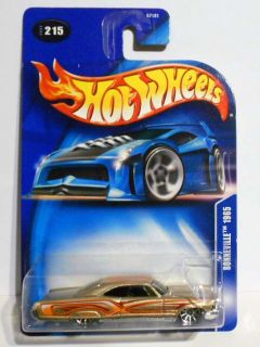 Hot Wheels 2003 215 Bonneville 1965 w P R Tampo on Roof Mint on Card