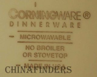 Corning Corningware Damascus Pattern Dinner Plate 10 3 4