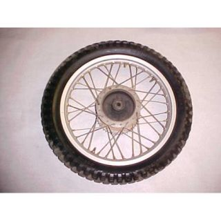 76 Kawasaki KT250 KT 250 Rear Wheel Rim Tire