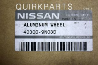 ORIGINAL EQUIPMENT 19 Inch Alloy Wheel Rim for your Nissan Maxima