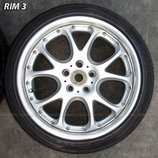 SSR Rims Wheels Tire Mercedes Benz E500 E550 S500 S550 Rims